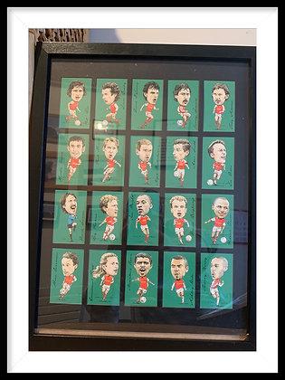 Arsenal legends card frame