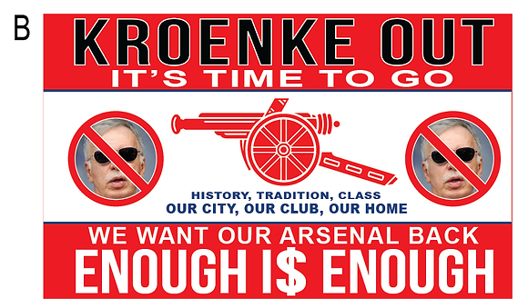 Kroenke out flag