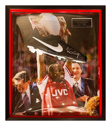 IAN WRIGHT Signed boot