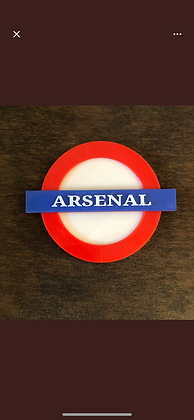Arsenal Tube station 3D Fridge Magnet