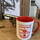 Thumbnail: Old crest mug red and white