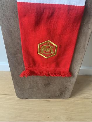 Art deco crest bar scarf