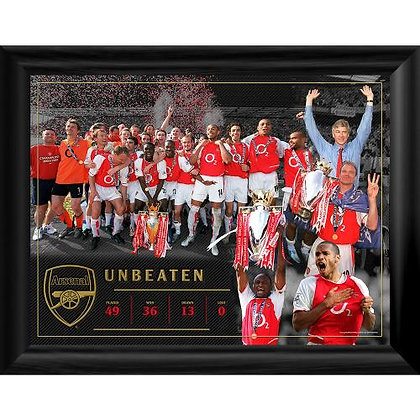 Arsenal F.C. Framed Print Invincibles 16 x 12