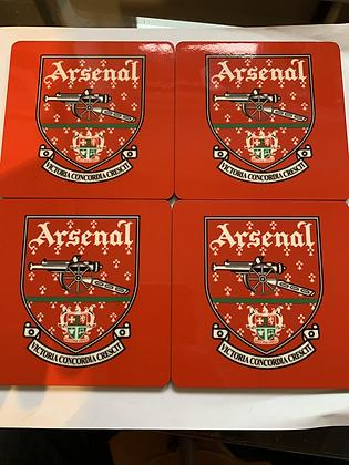 Old crest coaster set