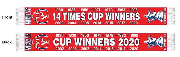 Fa cup winners scarf