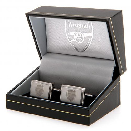 Stainless Steel Cufflinks - AFC Emblem