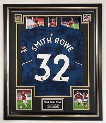 Smith Rowe Signed Shirt