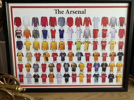 The Arsenal Kits print