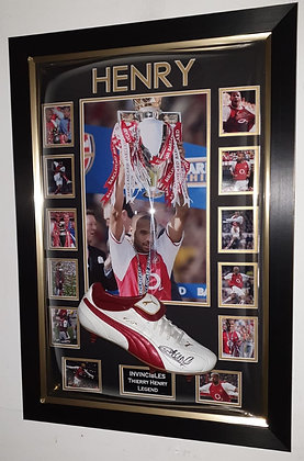 Thierry Henry Signed Boot