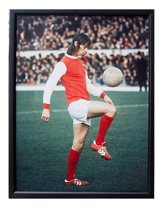 Charlie George - Mounted Print