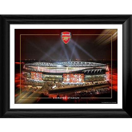 Arsenal F.C. Framed Print Emirates Night 16 x 12