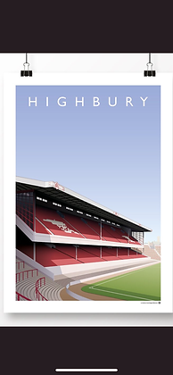 Highbury West stand