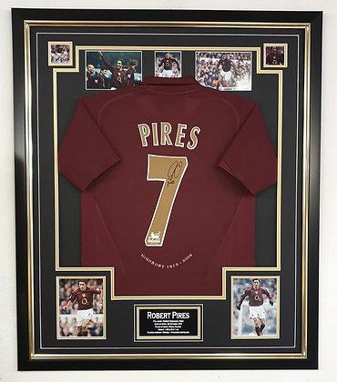 Pires Signed shirt frame