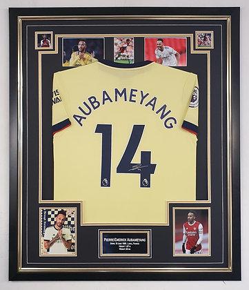 Aubameyang signed shirt
