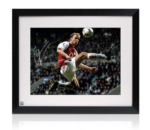 Dennis Bergkamp Signed photo