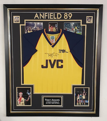 Tony Adams '89 Signed Shirt