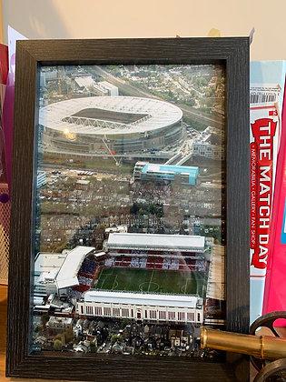 Framed Highbury/Emirates