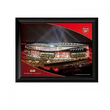 Arsenal F.C. Framed Print Emirates Night 8 x 6
