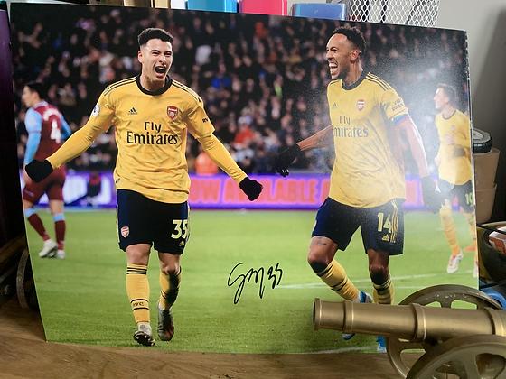 Martinelli Signed photo frame
