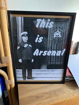 This is Arsenal print.
