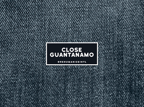 Close Guantanamo Patch