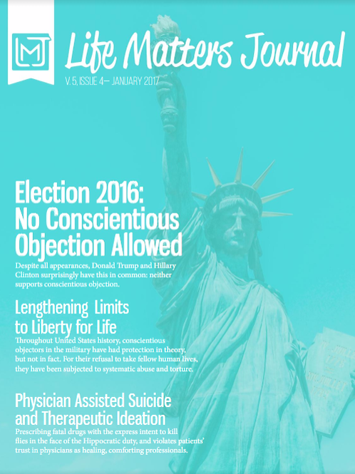 Life Matters Journal - Volume 5 Issue 4