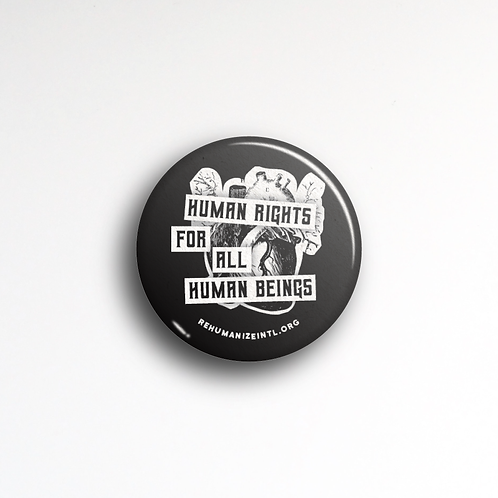 Human Rights For All Human Beings Button