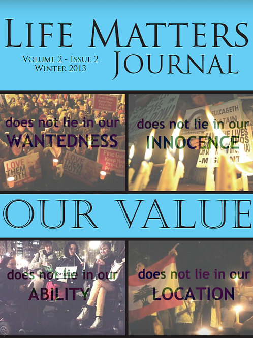 Life Matters Journal - Volume 2 Issue 2