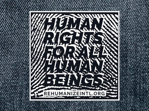 Human Rights for All Human Beings Patch