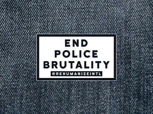 End Police Brutality Patch