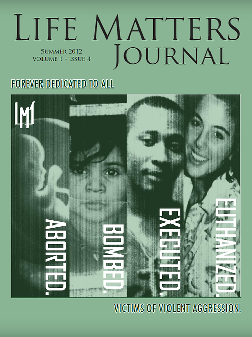 Life Matters Journal - Volume 1 Issue 4