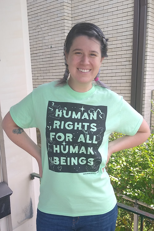 Human Rights for All Human Beings Shirt