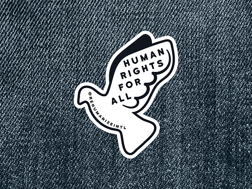 Human Rights for All Patch