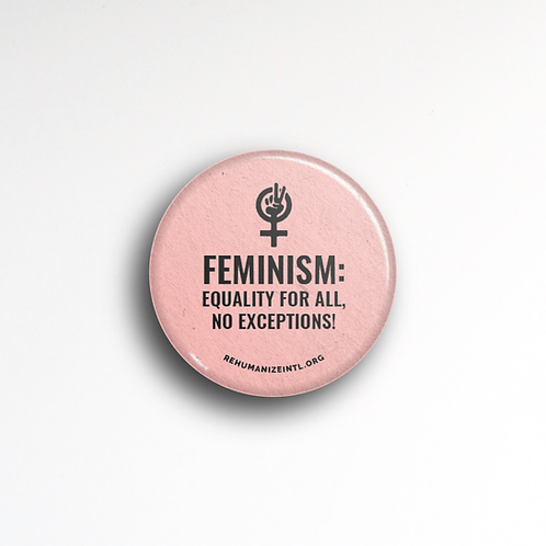 Feminism: Equality Button