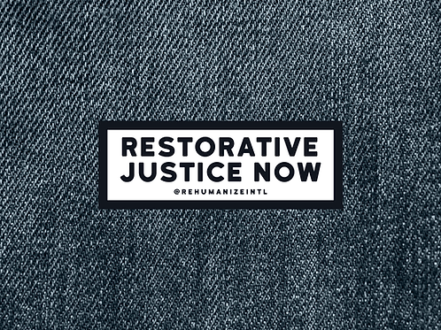 Restorative Justice Now Patch