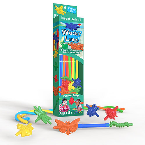 Insect Series 1 Wacky Links Box Kit