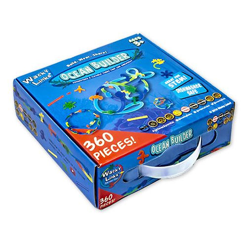 WACKY LINKS LARGE ACTIVITY PACK OCEAN AND CONNECTOR 360PCS