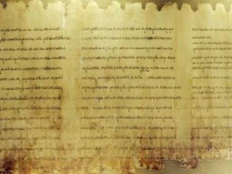 Israël dévoile un manuscrit biblique vieux de deux mille ans découvert en Judée