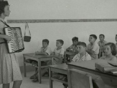 Première rentrée des classes en1949, en Israël