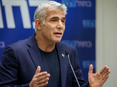 Le plan de Yaïr Lapid pour Gaza