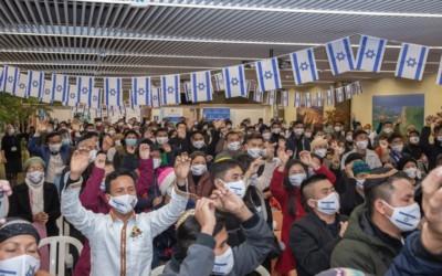 Aliyah d'un nombre croissant de Juifs membres des tribus perdues