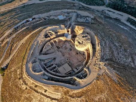Nouveaux vestiges du palais du roi Hérode