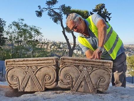 À Jérusalem, des archéologues découvrent un palais de l'époque du Premier Temple