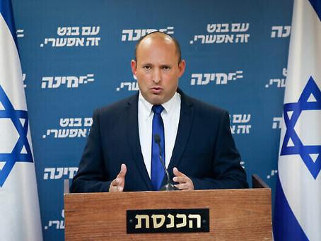 Bennett va « tout faire pour former un gouvernement d'union »; Colère de Netanyahu