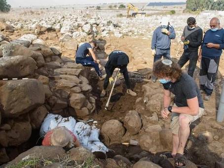 Golan : découverte d'un fort du temps du roi David