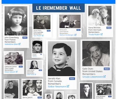 "Yad Vashem : Rejoignez le "" I Remember Wall """