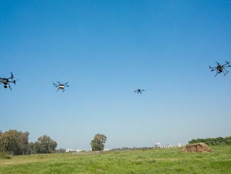 Israël lance un projet pilote de 2 ans pour un réseau de drones de livraison