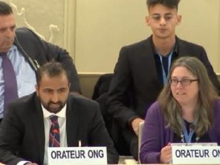 Cet ancien islamiste défend Israël au conseil des droits de l'Homme de l'Onu