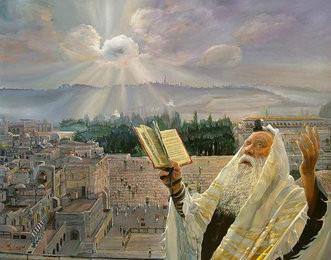 La bénédiction d'Aaron sur le peuple d'Israël