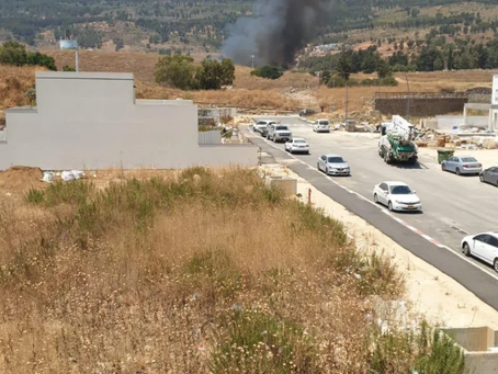 Roquettes tirées du Liban vers Israël, Tsahal riposte par des tirs d'artillerie